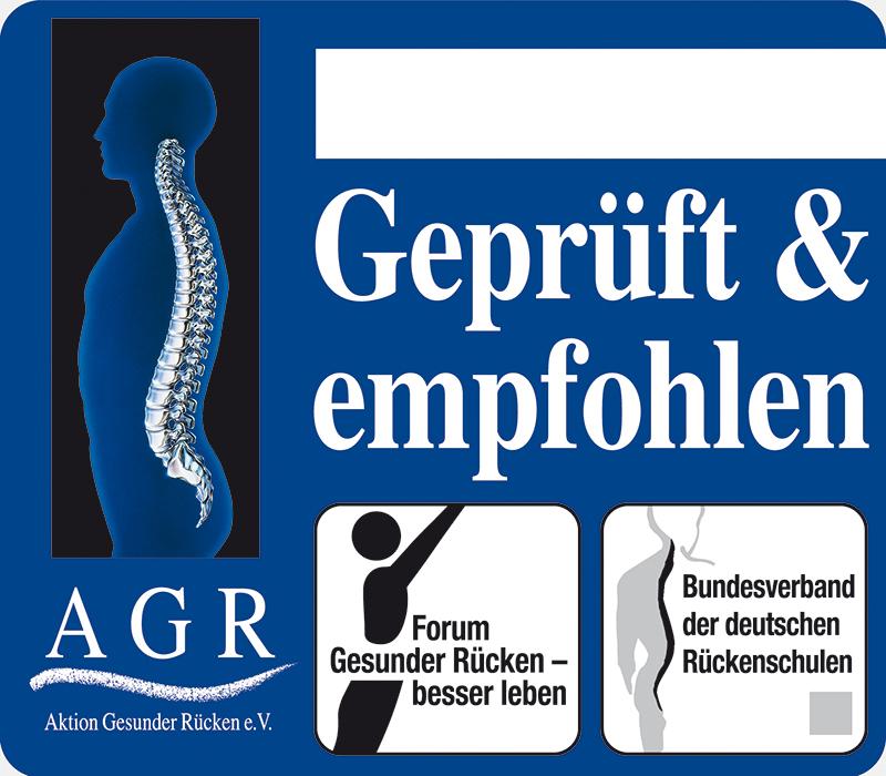 Bestnoten für gesunden Rücken