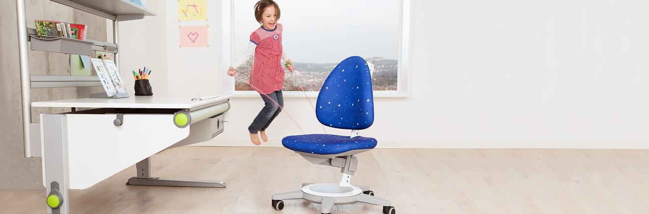 Kinderschreibtischstuhl ohne rollen  Moll Funktion | Produkte | Kinderdrehstuhl Maximo