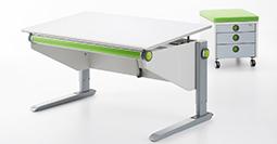 Kinderschreibtisch moll  Und der Schreibtisch? Wächst einfach mit! - Moll Funktion