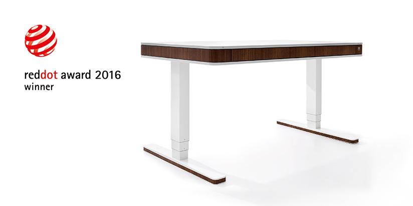 Kinderschreibtisch design  Prize-winning design quality: moll T7 triumphs in Red Dot Award ...