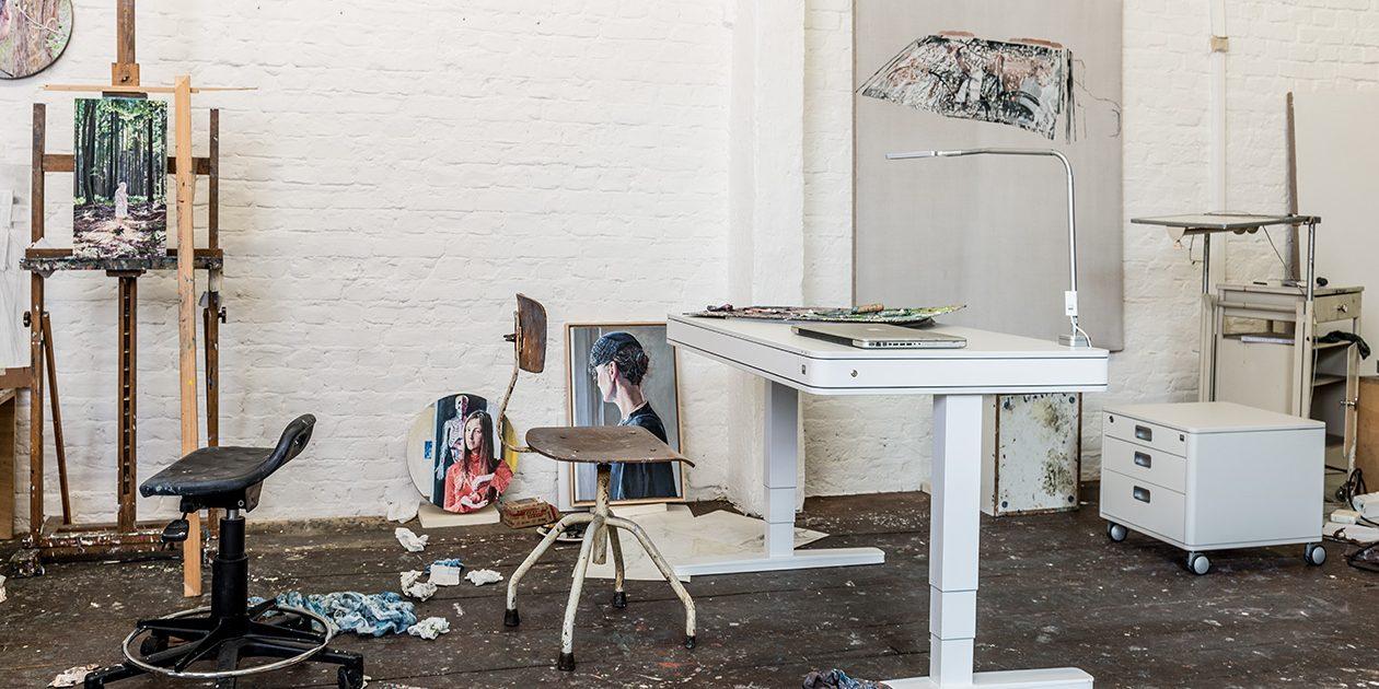 Designmöbel, Schreibtische und Drehstühle für das home office von ...