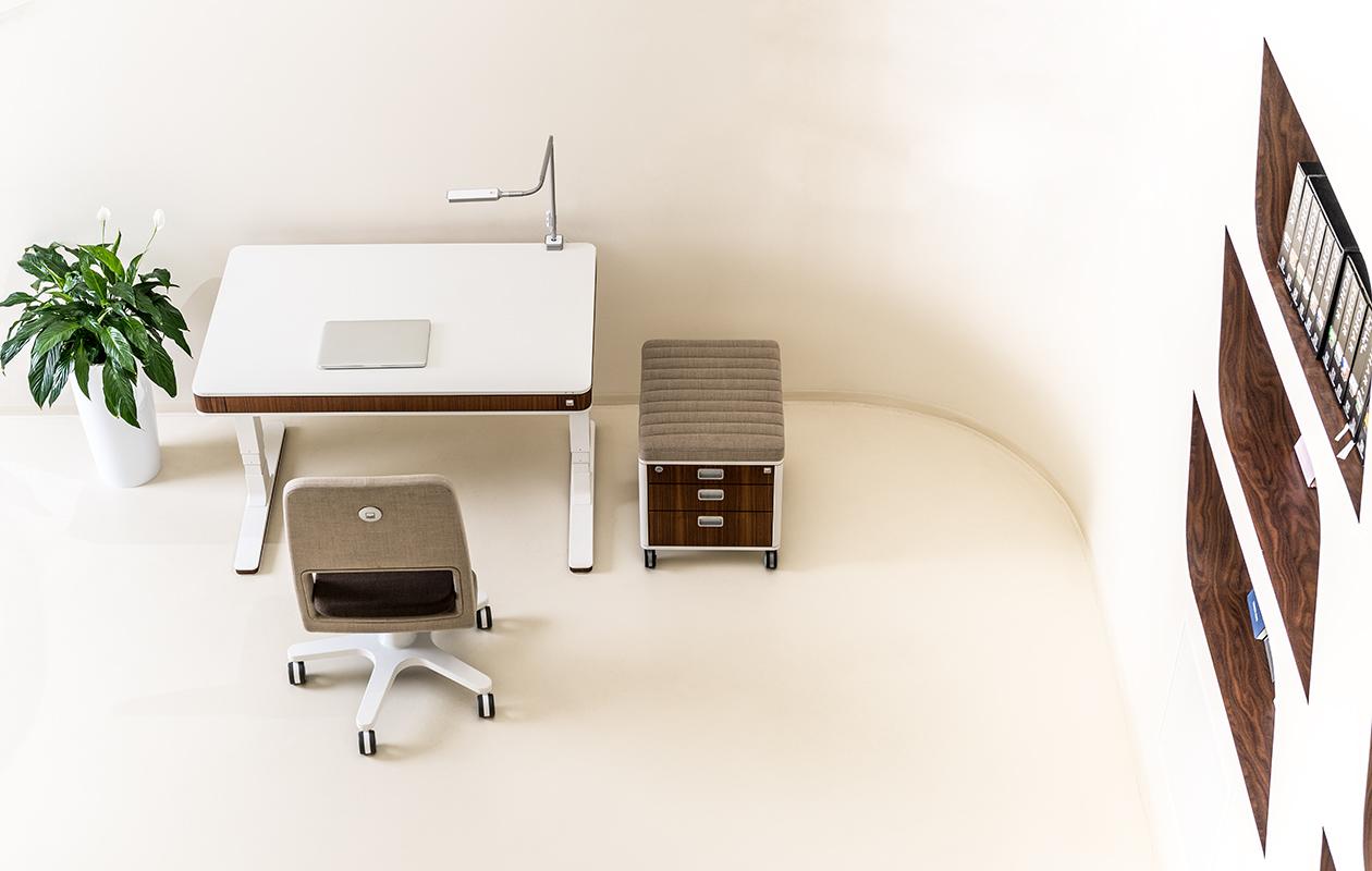Moll T7 Elektrisch Höhenverstellbarer Schreibtisch Home Office Oder