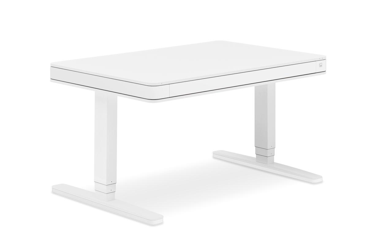 Schreibtischplatte weiß  moll T7 elektrisch höhenverstellbarer Schreibtisch - moll funktion