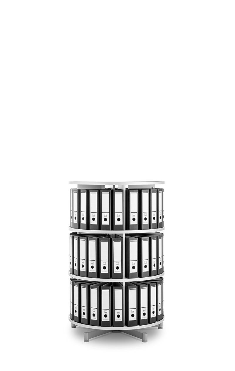 moll rotafile platzsparende drehsäule modell compactfile