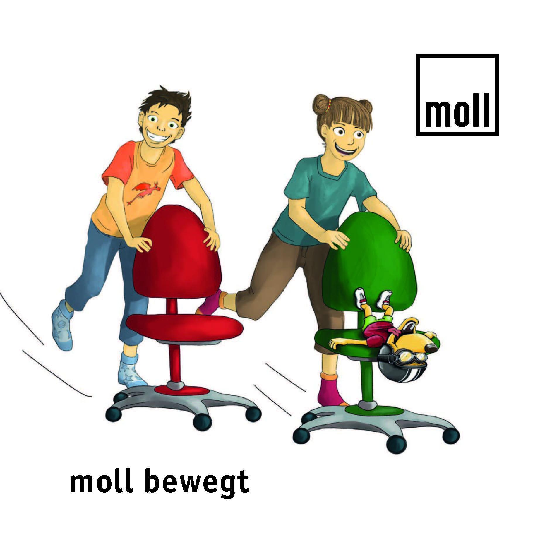 moll bewegt Bewegungsübungen für Kinder für die Gesundheit und Intelligenz