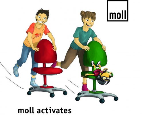 moll activates Movement exercises for children for health and intelligence
